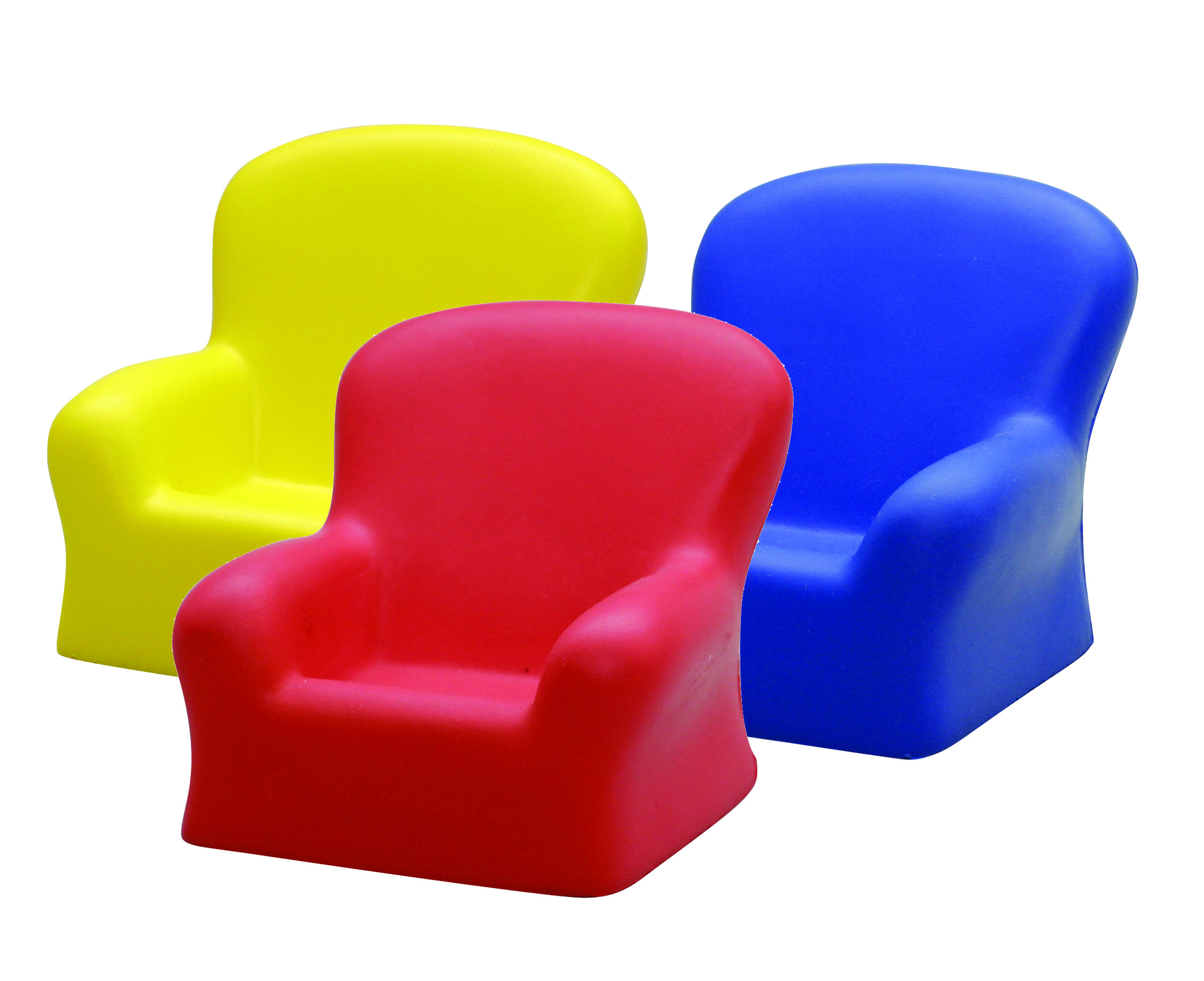 CHAIR  (red, yellow, blue)